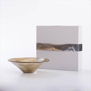 【アウトレット】ガラスボウル/kasumi bowl M browngreen/fresco 8500円→6980円《商品入れ替え》