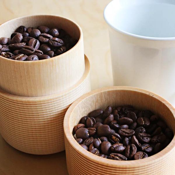 コーヒー豆に茶筒って粋じゃない?