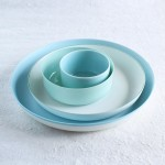 Enjoy blue gradation: Blue plates from 1616/arita japan