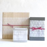 Stylish paulownia suzugami set for gift