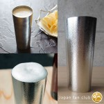 Tin beer cup and tumbler of Nousaku