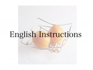 These products have English instructuions