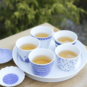 Drink tea with soba choko cups!