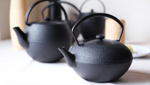 How to care cast iron teapots. What is advantage of it?