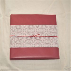 Japanese diagonal gift wrapping!