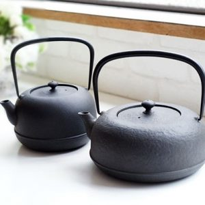 Cast iron kettle in summer? YES!