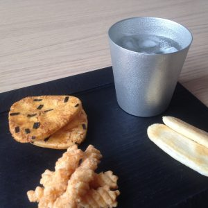 Enjoy foods in season with tin tumbler!