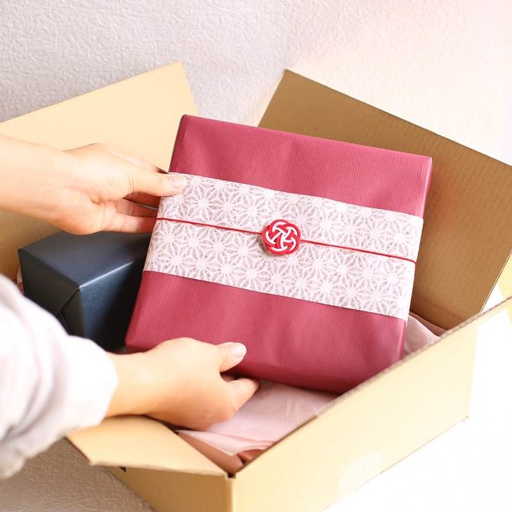 Best gift wrapping for suzugami!
