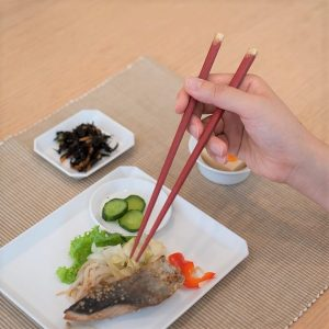 Wishing you everlasting happiness!! 2 pairs of chopsticks as wedding gifts!