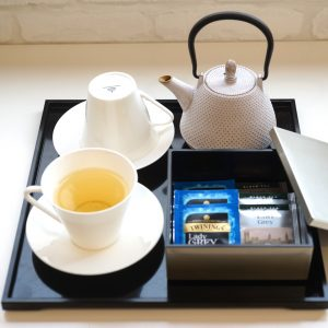 How to make a stylish tea set like a hotel?