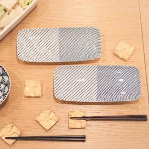 さんまの季節!焼き魚は北欧風の長皿でおしゃれに♪