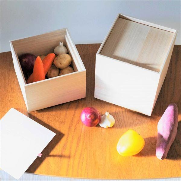 新商品!野菜を美しく守る桐の保存箱